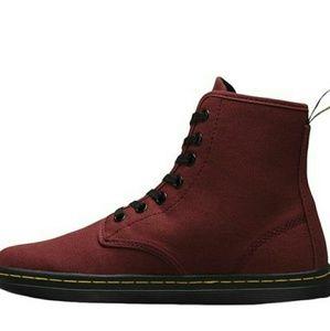 DR MARTEN SHOREDITCH BOOTS RED 7